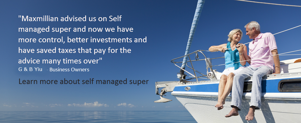 Maxmillian SMSF Self Managed Super Testimonial2